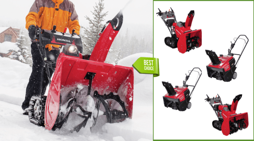 Featured Image - BEST BEST HONDA SNOW BLOWERS COMPARISONS