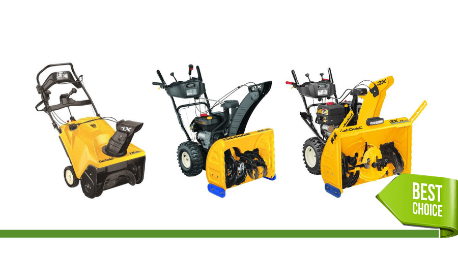 Featured Image - BEST CUB CADET SNOW BLOWER REVIEWS