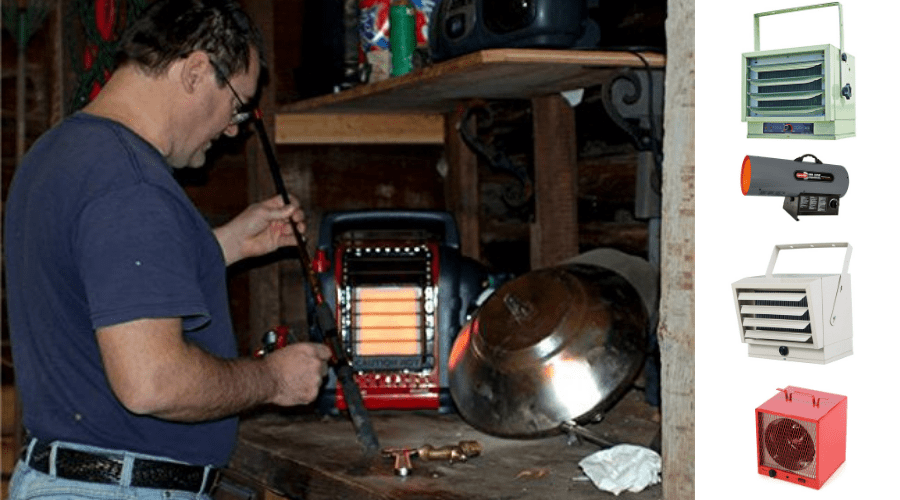 Featured Image - BEST GARAGE HEATER COMPARISONS