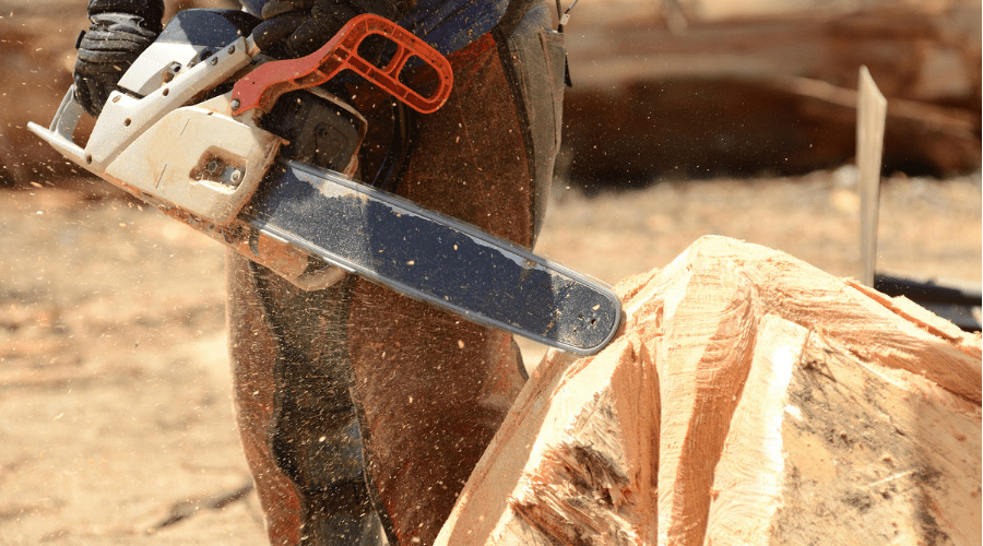 Featured Image - THE BEST CHAINSAW FOR CARVING