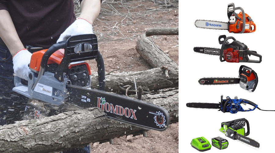 Featured Image - BEST FIREWOOD CHAINSAW PICKS_ LONG LASTING, SMOOTH CUTTING MACHINES