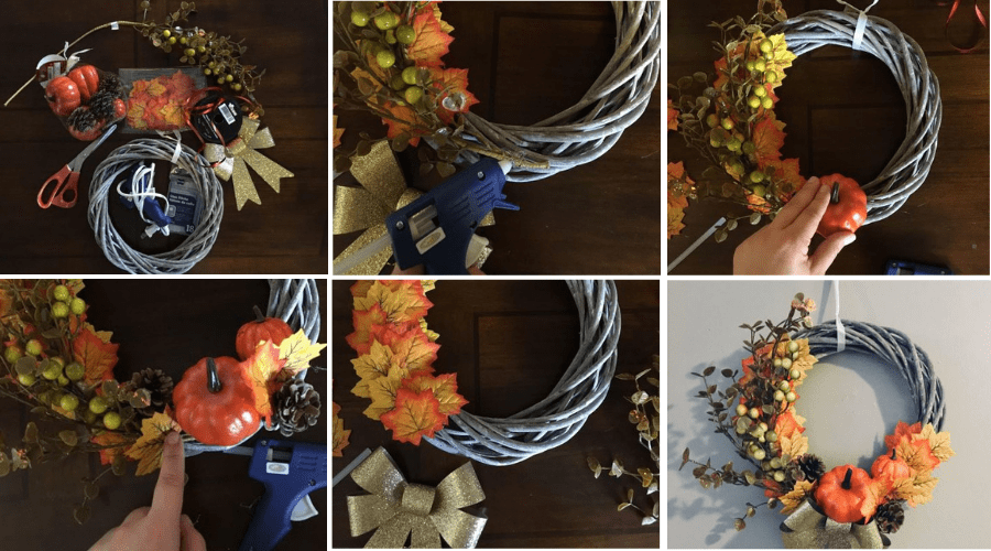 Featured Image - HOW TO MAKE A BEAUTIFUL FALL WREATH