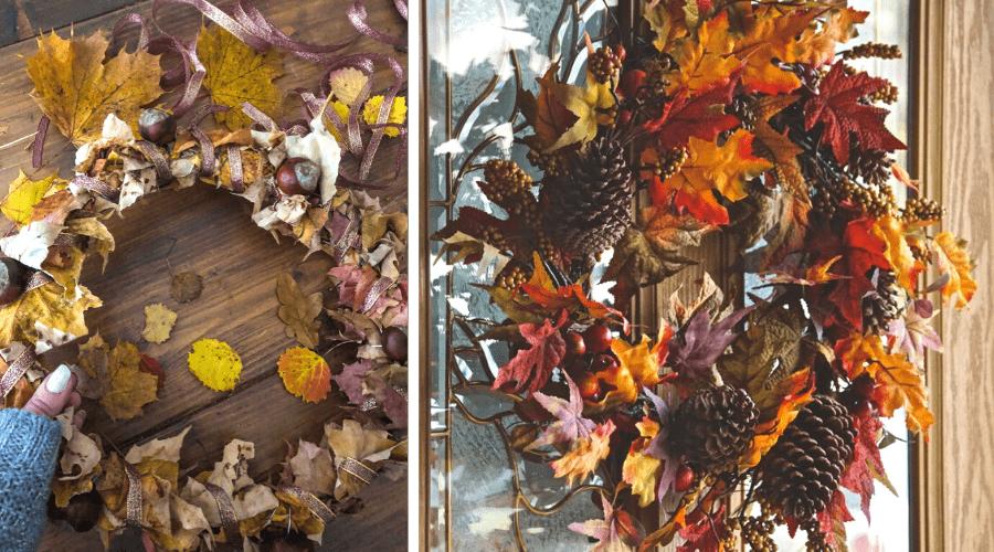 fall wreath DIY ideas