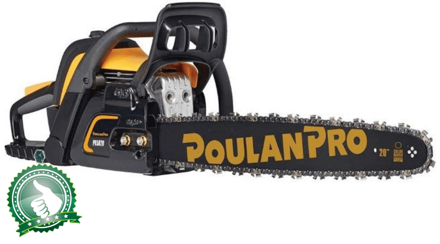 "Featured Image - POULAN PRO PR5020 20"" CHAINSAW REVIEW"