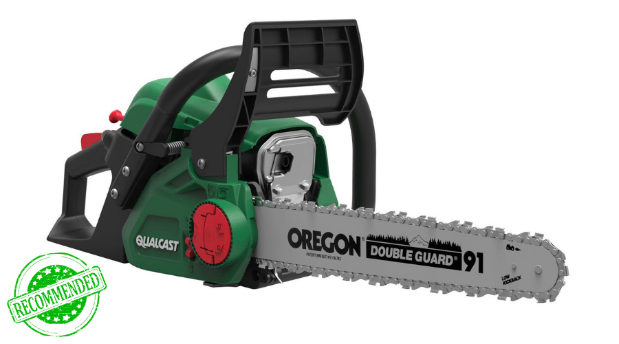 Featured Image - THE QUALCAST CHAINSAW REVIEW