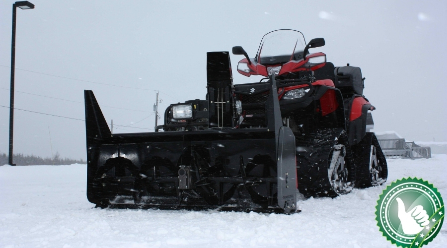 Featured Image - ATV Snow Blower Attachments: Clear Your Property in Record Time