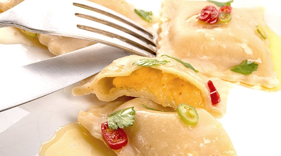 Featured Image - How to Make Butternut Squash and Roasted Pecan Ravioli (With Homemade Dough)