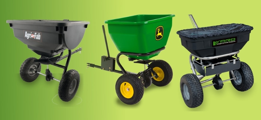Best Tow Behind Spreaders for Large Lawns