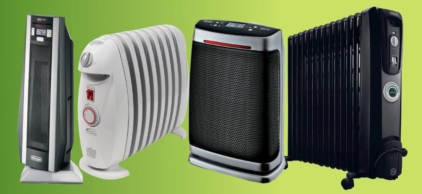 Top 5 Delonghi Space Heaters