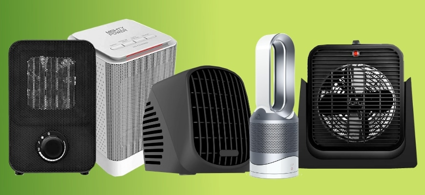 Top 5 Quiet Space Heaters