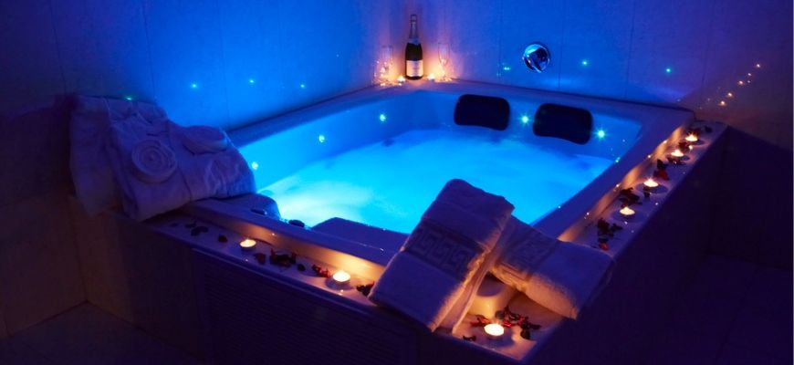 Create Your Own Luxury With These 69 Hot Tub Ideas - feature image
