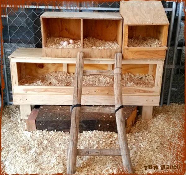 Custom wooden Nest Boxes