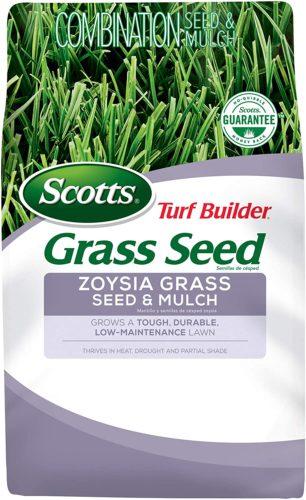 Scotts Turf Builder Grass Seed Zoysia Grass Seed & Mulch
