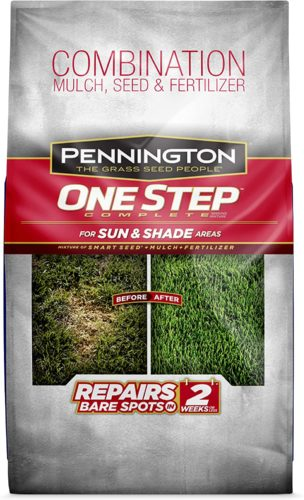 Pennington One Step Complete Bare Spot Repair Grass Seed Mix For Sun & Shade Areas