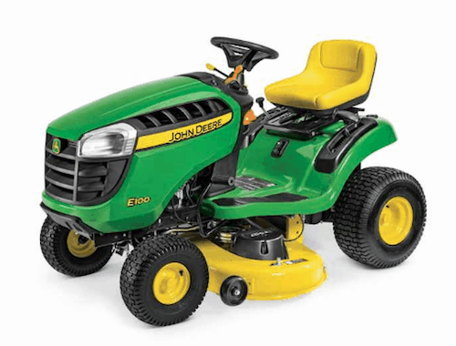 John Deere E100 Riding Mower - A Review of the Best Cheap Riding Lawn Mowers in 2021