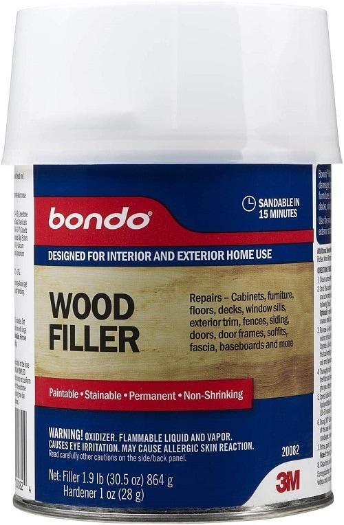 Bondo 20082, Quart Home Solutions Wood Filler