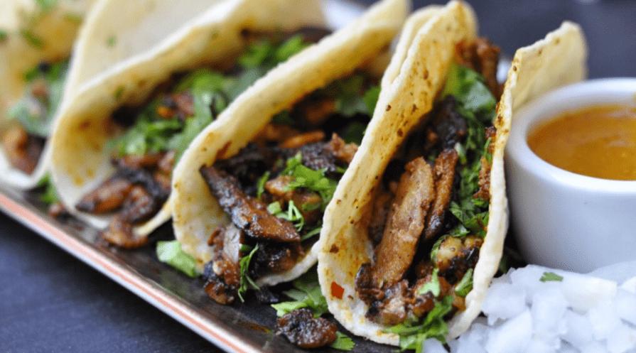 Cilantro in Tacos