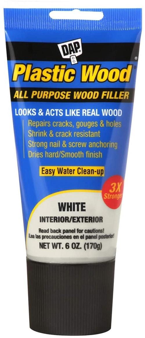 DAP 00585 Latex 6oz, White All Purpose Wood Filler