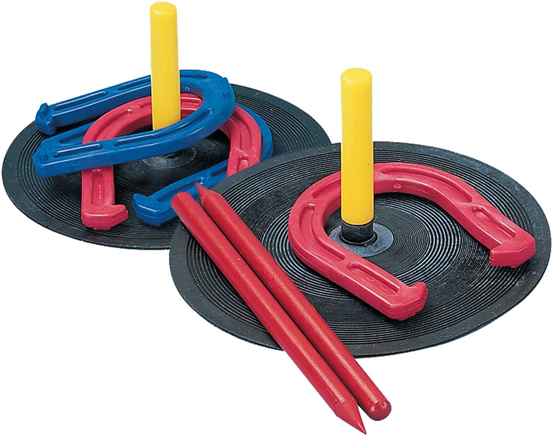 Champion Sports IHS1 Rubber Horseshoe Set