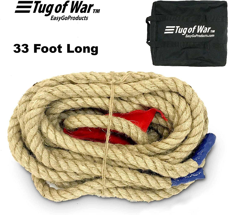 EASYGO 33 Foot TUG of WAR Rope
