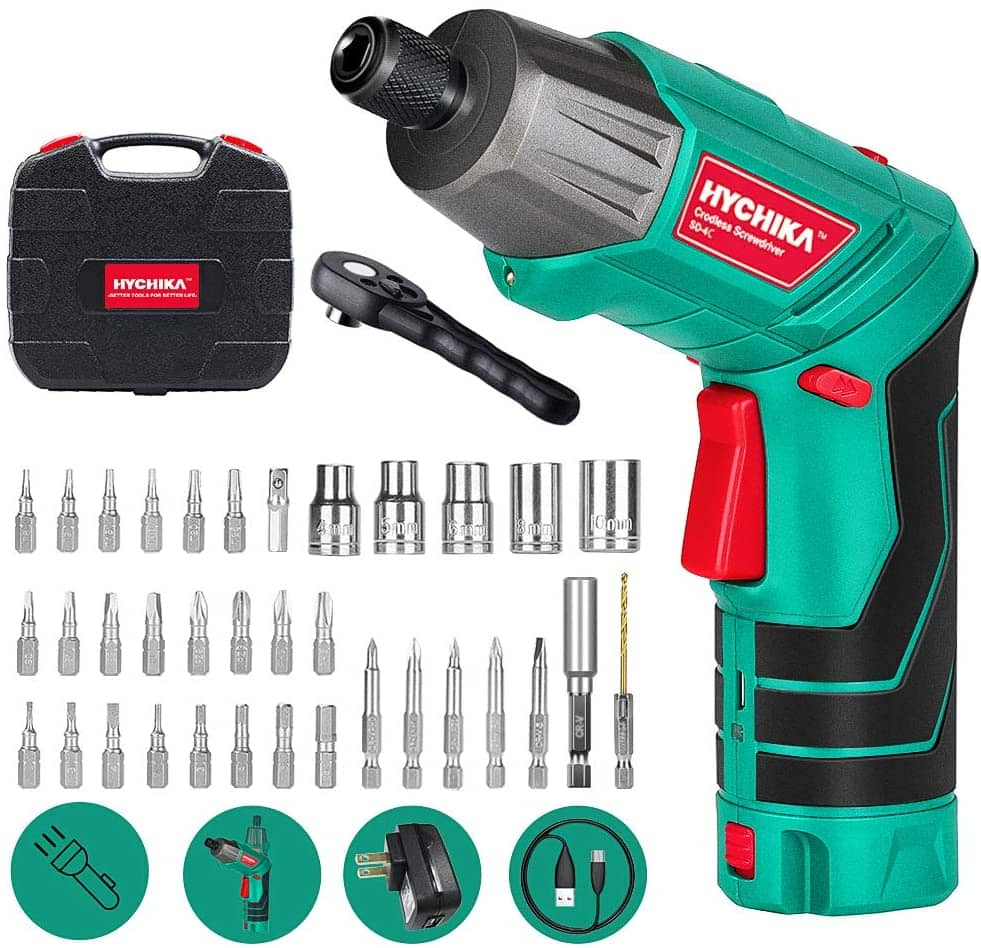 Hychika Cordless Screwdriver