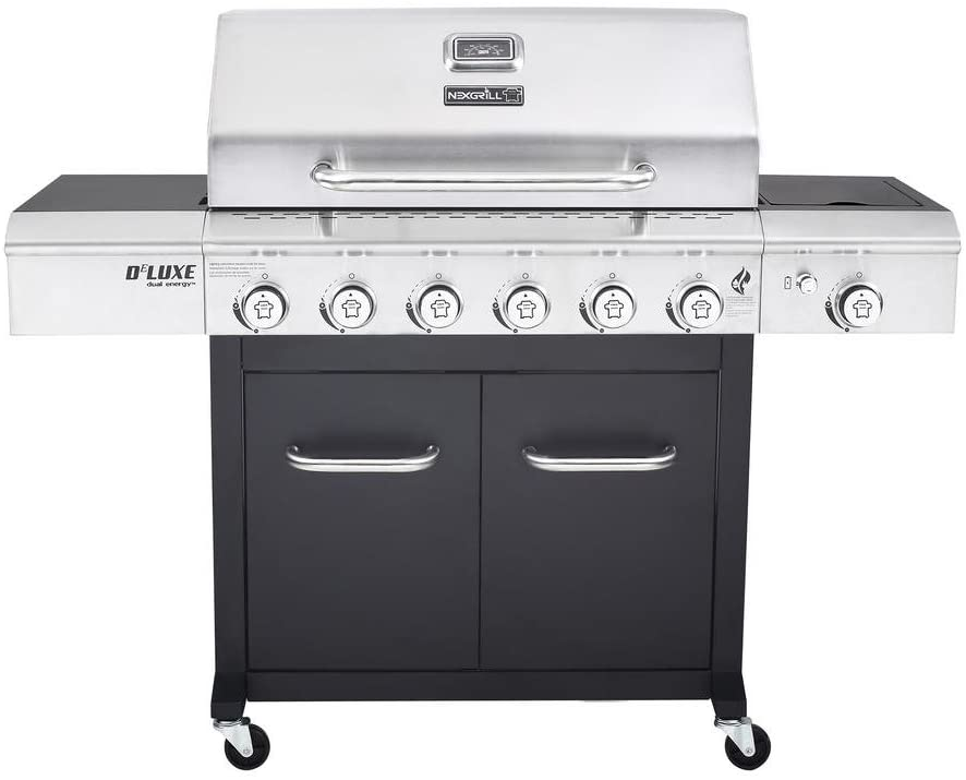 Deluxe 6-Burner Propane Gas Grill 720-0898