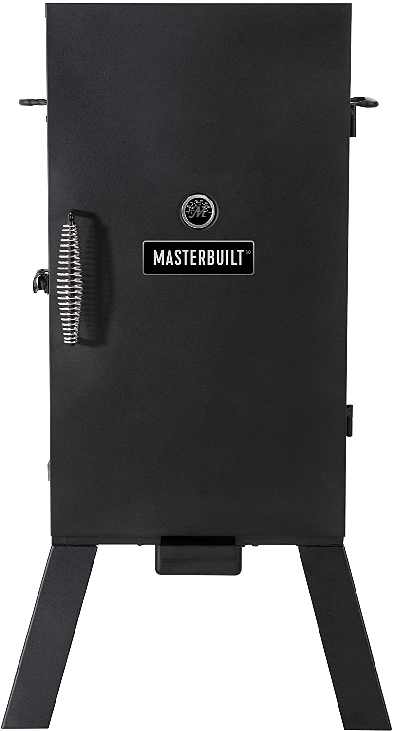 Analog Electric Smoker with 3 Smoking Racks MB20070210