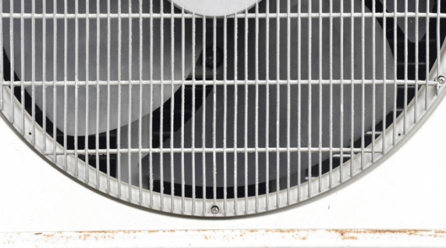 air conditioner grate fan