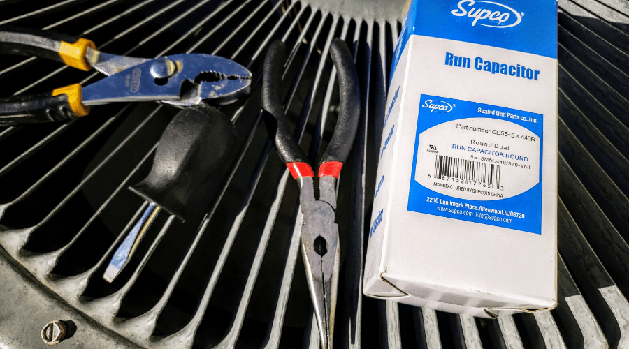 what you need to replace an ac run capacitor