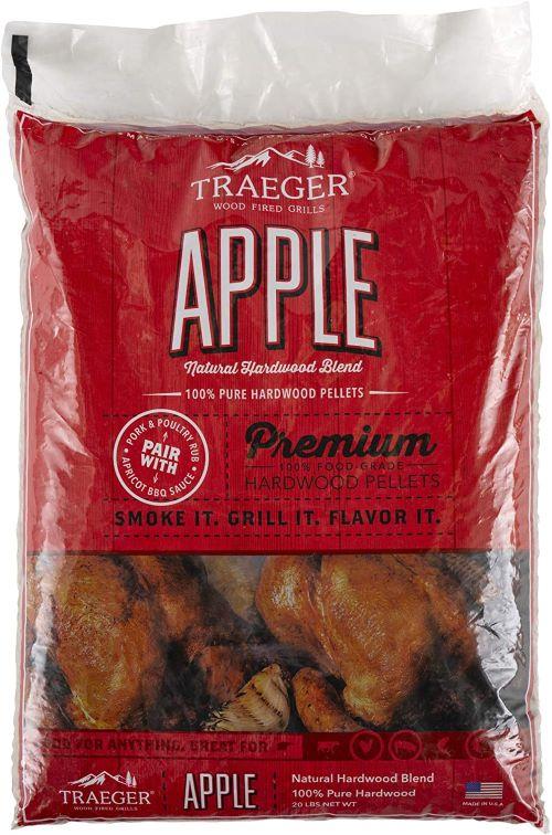 Traeger Apple Barbecue Pellets