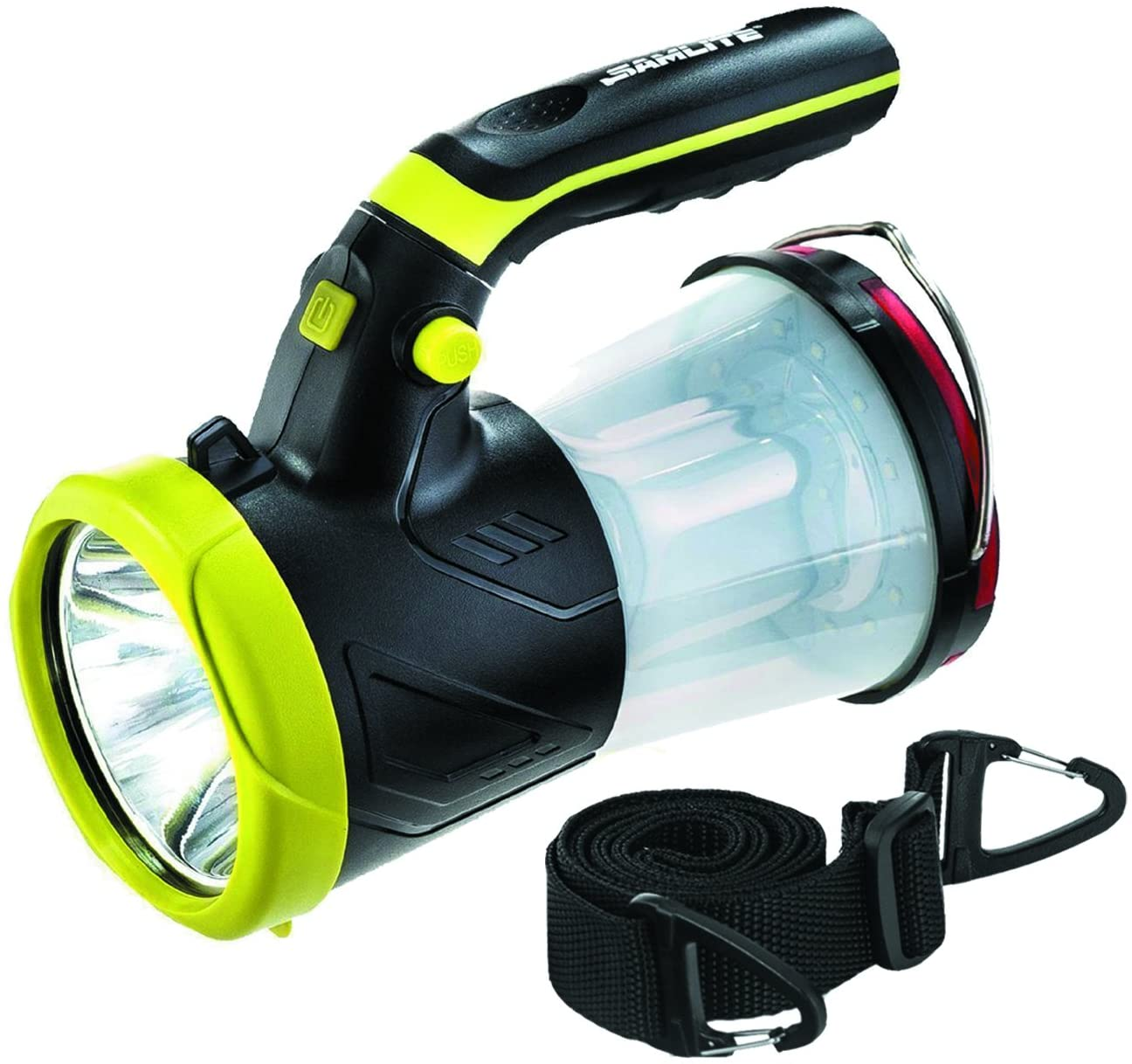 SAMLITE Rechargeable LED 4-in-1 Lantern Flashlight