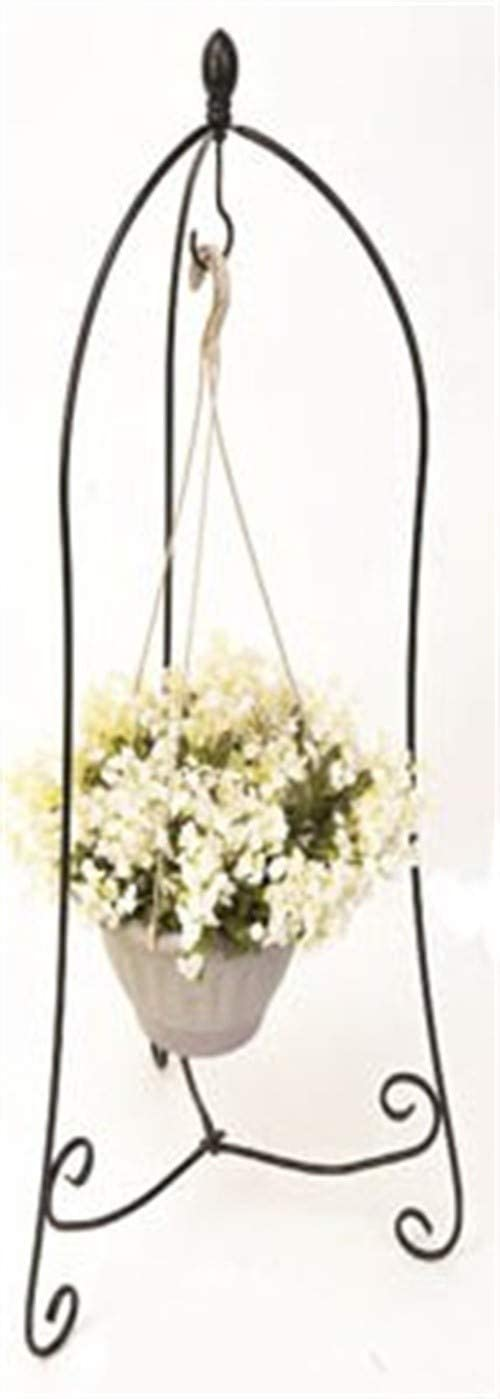 HowRU Iron Hanging Basket Plant Holders
