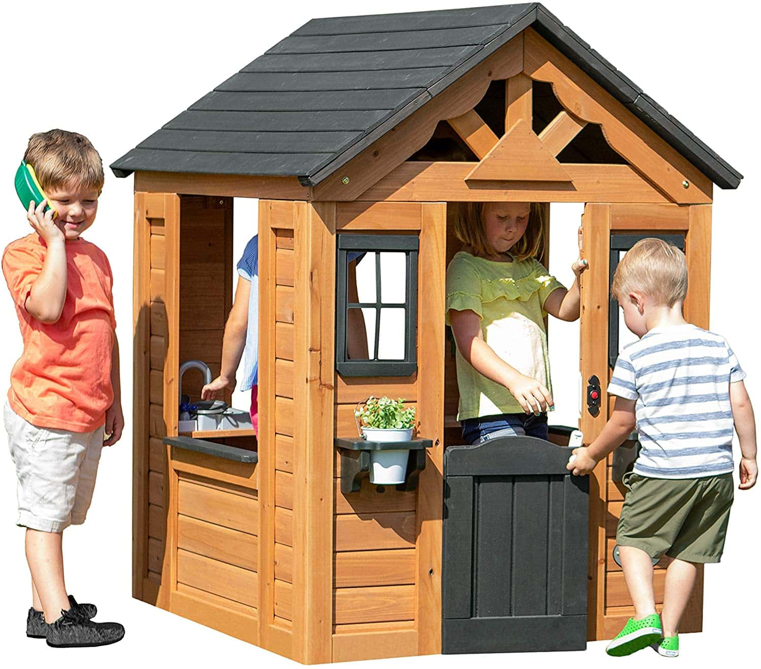 Backyard Discovery Wooden Playhouse