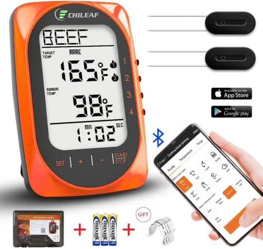 CHILEAF Smart Wireless Bluetooth Thermometer