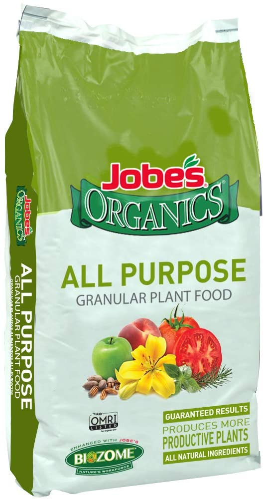 Buy Jobe's Organics All-Purpose Granular Fertilizer at Amazon