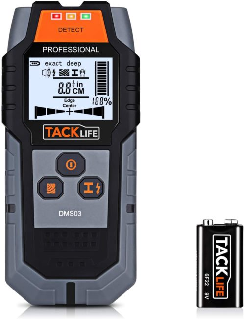 Tacklife 4-in-1 Center Finding Electronic Stud Finder