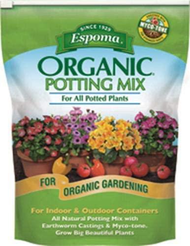 Espoma 4-Quart Organic Potting Mix