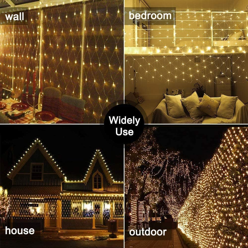 Ollny Net Mesh Lights
