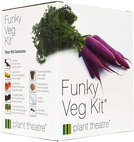Plant Theatre Funky Veg Kit - 5 Vegetables