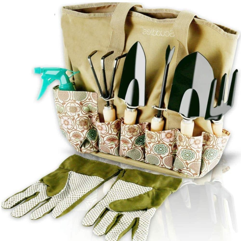 Scuddles 8-Piece Garden Tools Set