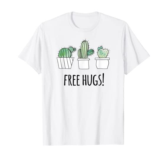 Free Hugs! Cactus T-Shirt