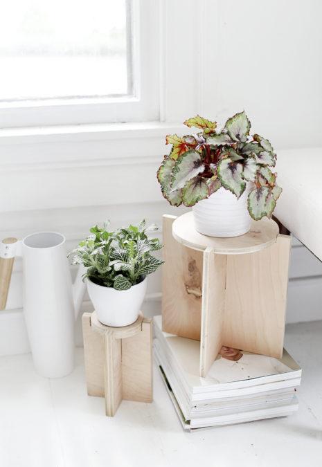 plant stand diy 8