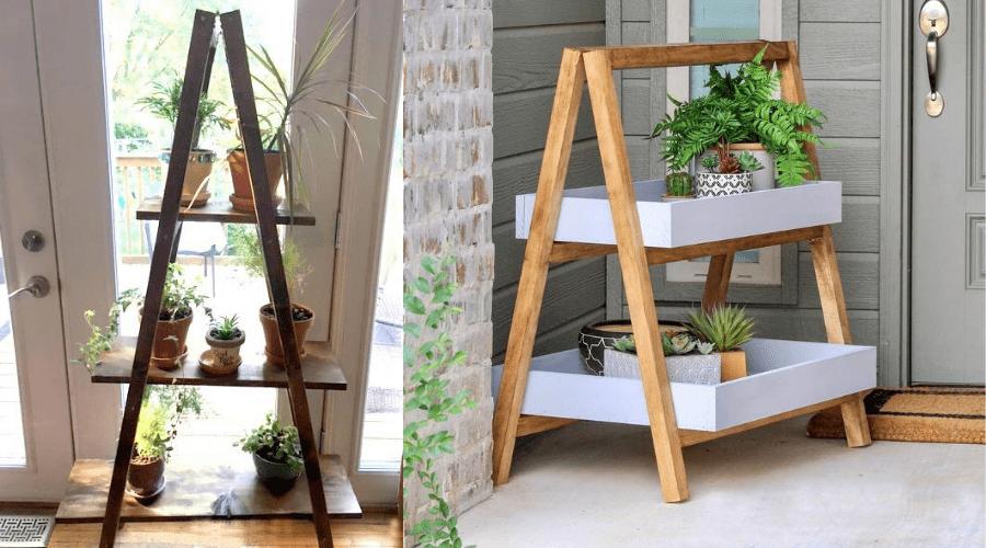 diy plant shelves 14 and 15