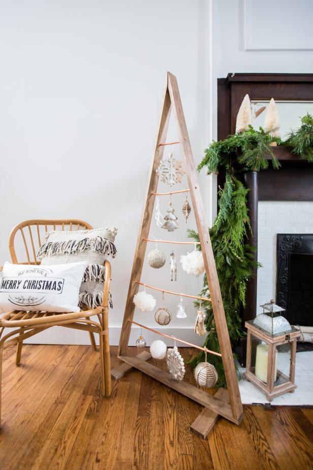 alternative tree idea DIY flat tree