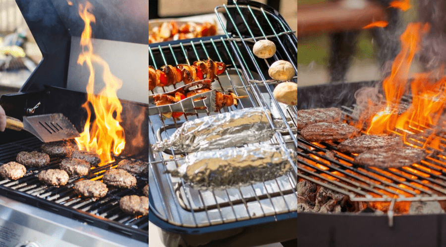 gas electric and charcoal grills featured image