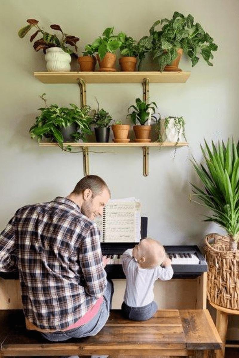 diy plant shelf 3