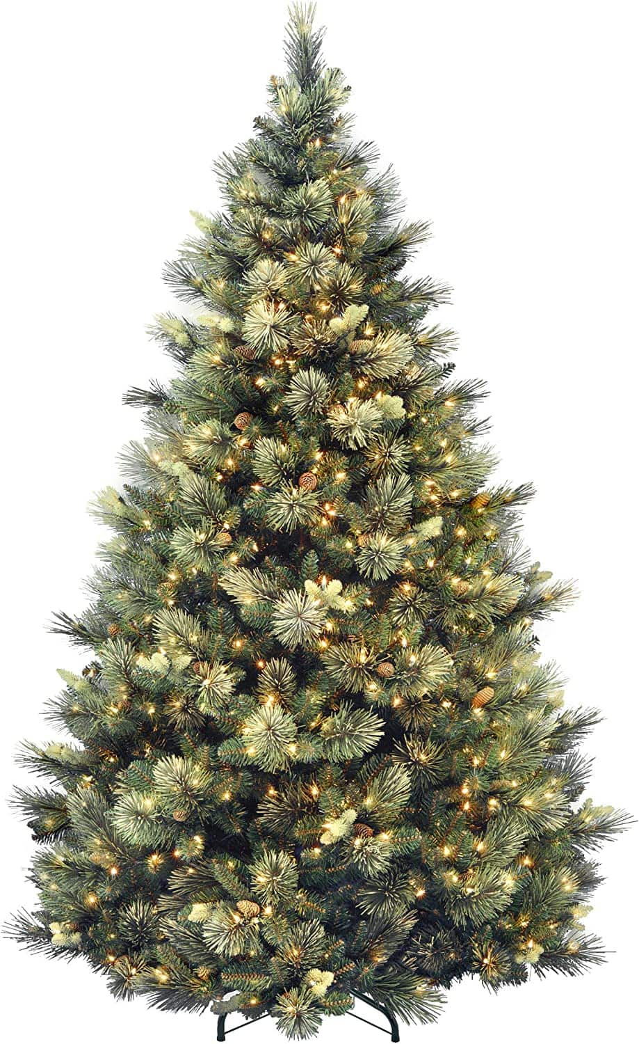 National Tree Company Artificial Tree With Pre-strung White Lights