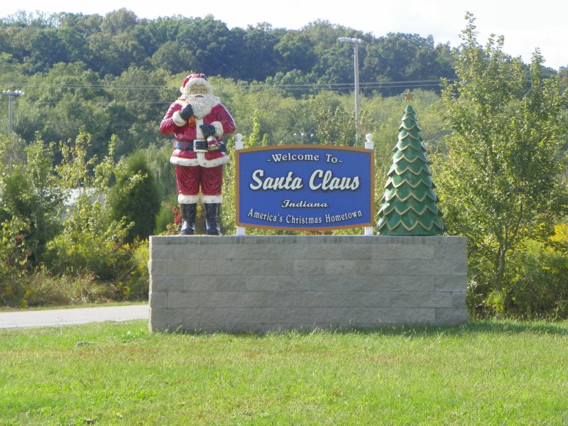 Welcome to Santa Claus Indiana America's Christmas Hometown