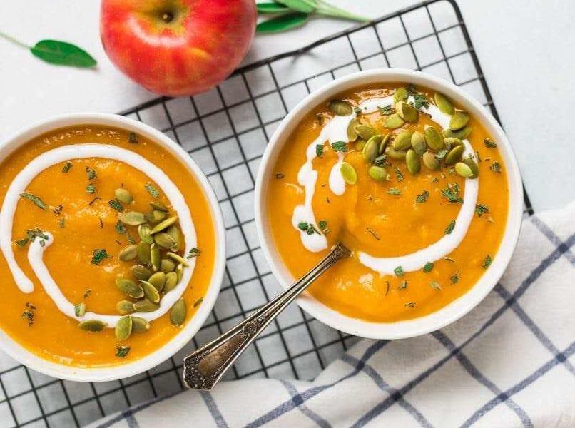 crock pot slow cooker butternut squash soup