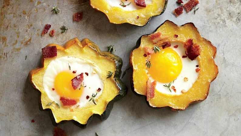 Squash Egg-in-the-Hole recipe